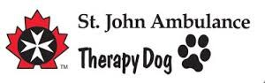 SJA Therapy Dogs Logo